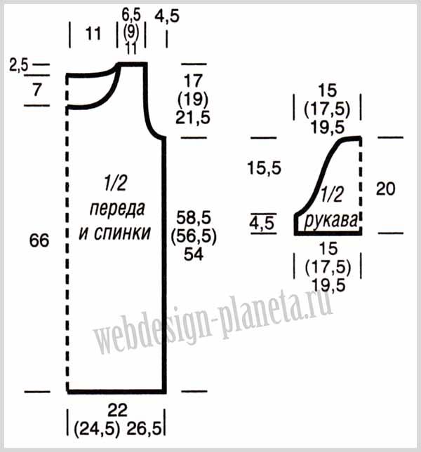 poluprozrachnaya-uzorchataya-tunika-spitsami-vykrojka (600x645, 127Kb)