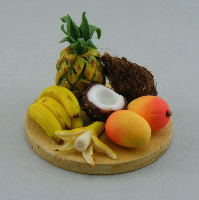 миниатюрная еда из полимерной глины Шай Аарон 2 (670x674, 228Kb)