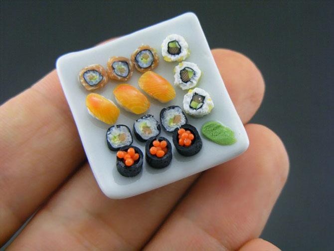 миниатюрная еда из полимерной глины Шай Аарон 4 (670x503, 175Kb)