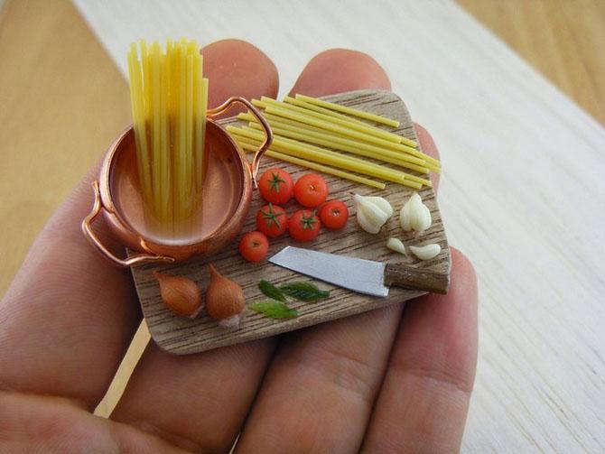 миниатюрная еда из полимерной глины Шай Аарон 6 (670x503, 188Kb)