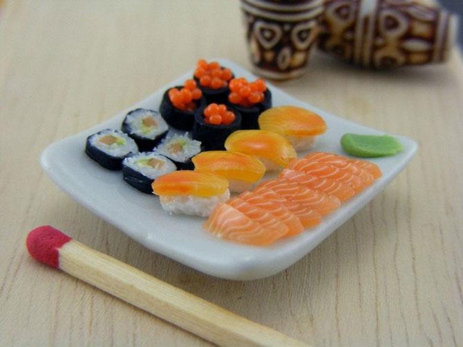 миниатюрная еда из полимерной глины Шай Аарон 8 (670x503, 184Kb)