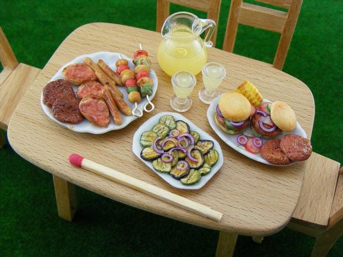 Как сделать еду для кукол настоящую 11