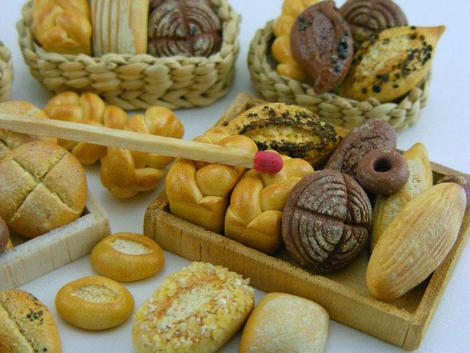 миниатюрная еда из полимерной глины Шай Аарон 18 (670x503, 281Kb)