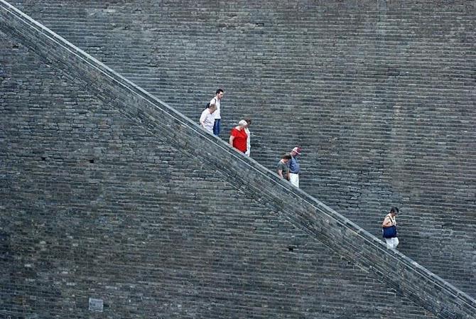 китайская стена город Сиань 6 (670x449, 279Kb)