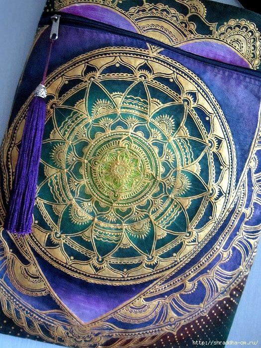 сумка мандала-сердце, автор Shraddha (2) (525x700, 477Kb)
