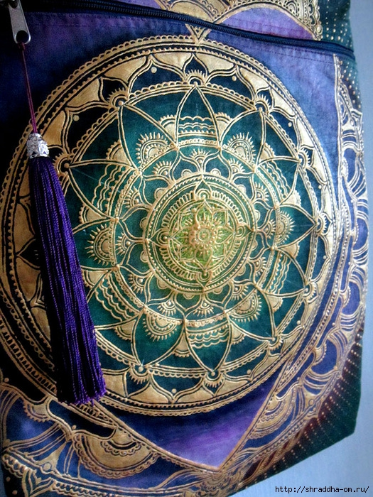 сумка мандала-сердце, автор Shraddha (3) (525x700, 432Kb)
