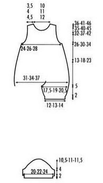 вязание для грудничков (6) (355x632, 50Kb)