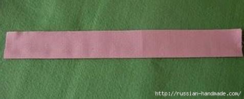 Бантик для украшения детской одежды. Шитье (2) (477x194, 46Kb)