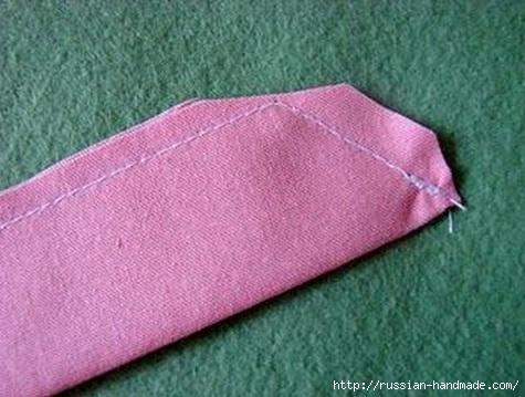 Бантик для украшения детской одежды. Шитье (4) (475x359, 115Kb)