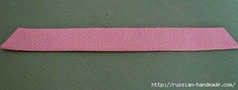 Бантик для украшения детской одежды. Шитье (6) (478x182, 35Kb)