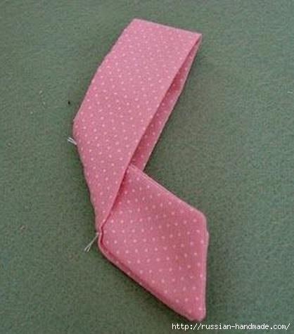 Бантик для украшения детской одежды. Шитье (8) (418x475, 94Kb)