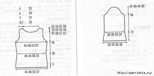 Летний ажурный пуловер спицами (5) (525x261, 74Kb)