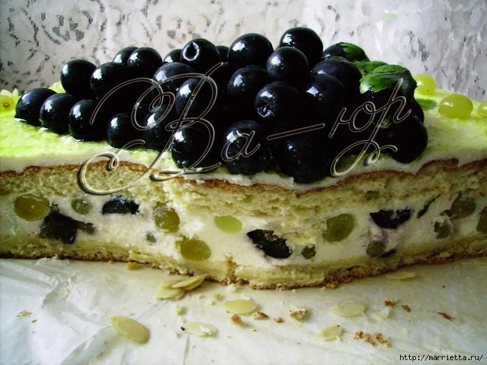Творожно-виноградный торт (1) (700x525, 306Kb)