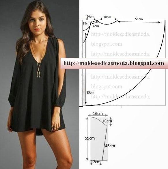 Дизайн платья и выкройка к нему