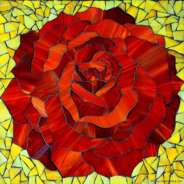 Мозаика на подносах. Мастер-класс и замечательные идеи (7) (700x700, 420Kb)