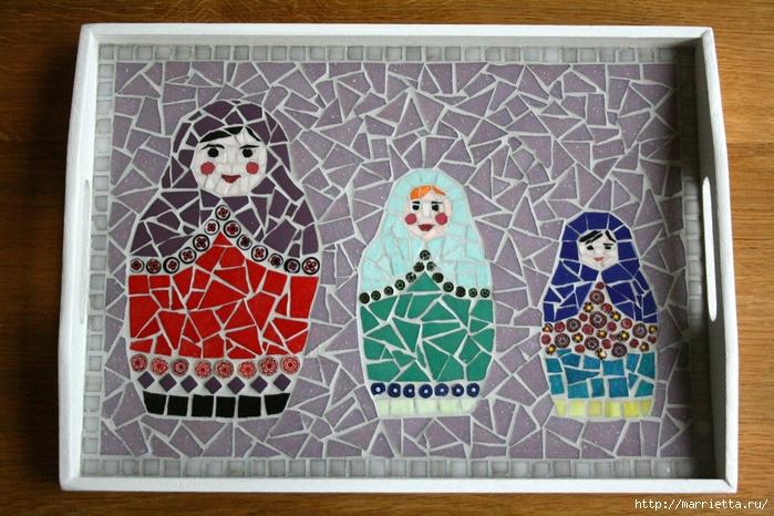 Мозаика на подносах. Мастер-класс и замечательные идеи (44) (700x466, 326Kb)