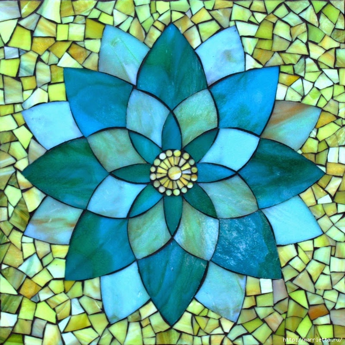 Мозаика на подносах. Мастер-класс и замечательные идеи (47) (700x700, 446Kb)