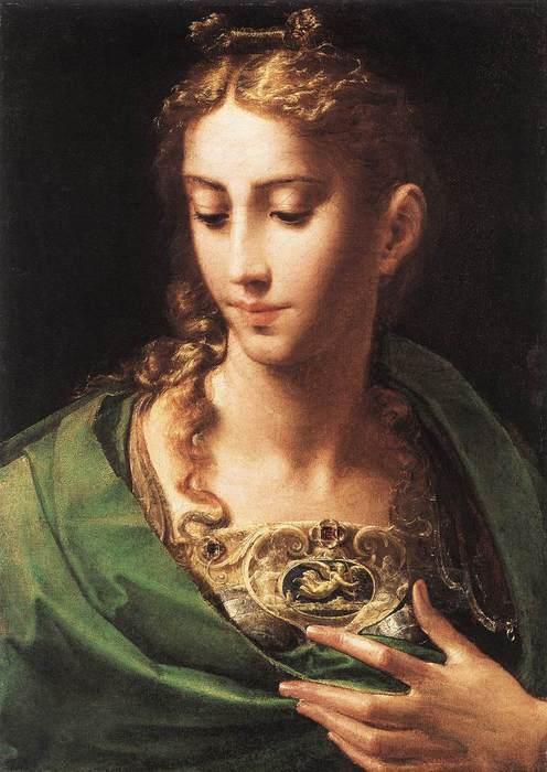 Parmigianino_Athene (496x700, 47Kb)