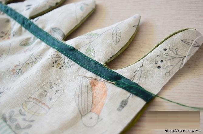 Bolsa de la materia textil por un rollo de papel higiénico.  Cosa a sí mismos (12) (669x442, 164Kb)