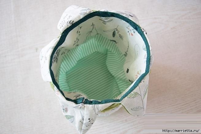 Bolsa de la materia textil por un rollo de papel higiénico.  Cosa a sí mismos (17) (655x435, 135Kb)