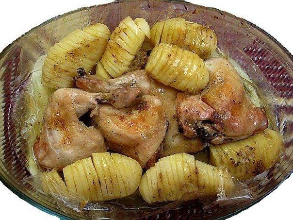 Курица с картошкой (604x453, 336Kb)