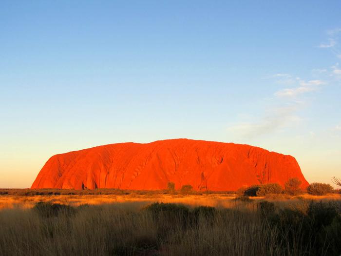 скала улуру австралия фото 4 (700x525, 280Kb)