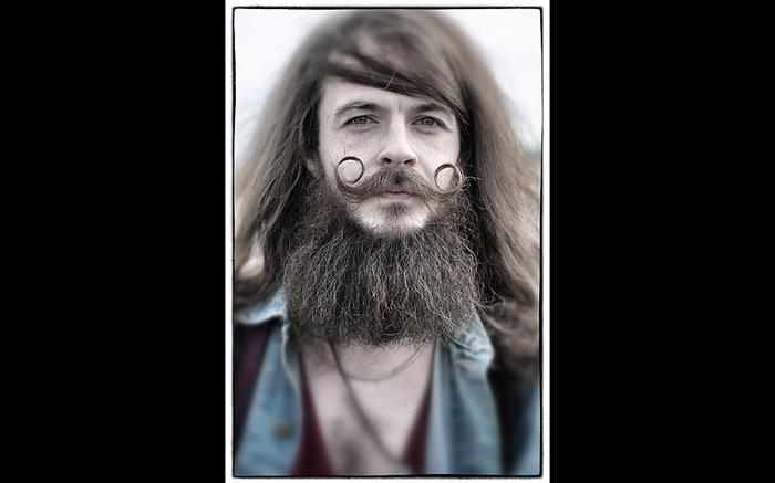 Лучшие бороды на выставке в Гластонбери