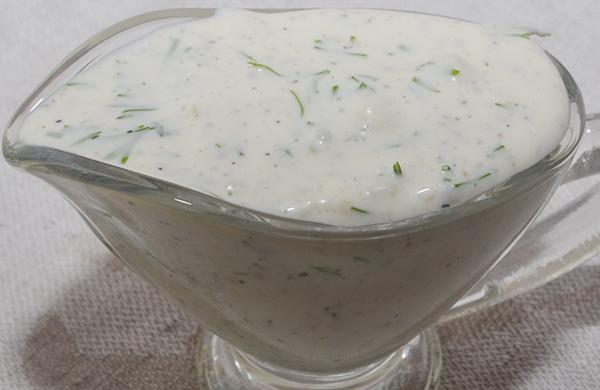 Как сделать белый соус к шашлыку 423
