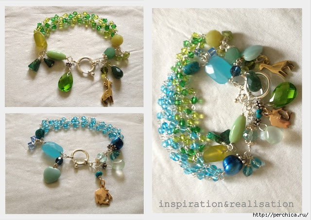 4979645_inspirationrealisation_Diy_tutorial_green_blue_bracelets_beads (640x454, 212Kb)