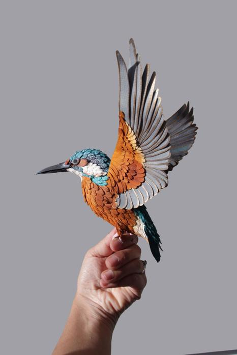 бумажные птицы Диана Белтран Херрера 5 (466x700, 134Kb)