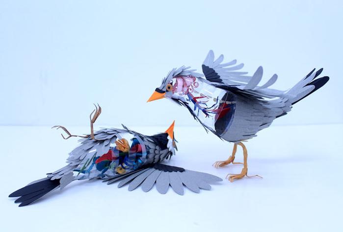 бумажные птицы Диана Белтран Херрера 9 (700x473, 178Kb)