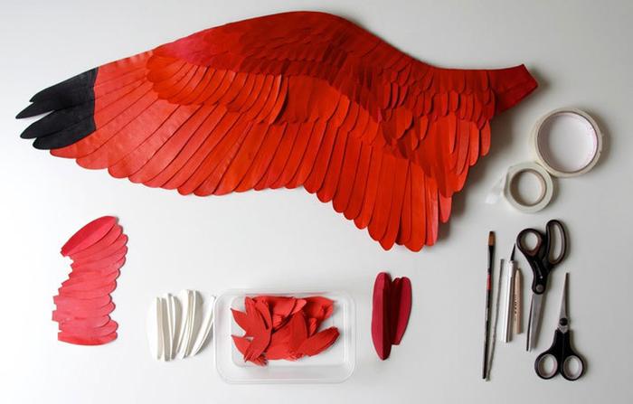 бумажные птицы Диана Белтран Херрера 14 (700x447, 245Kb)