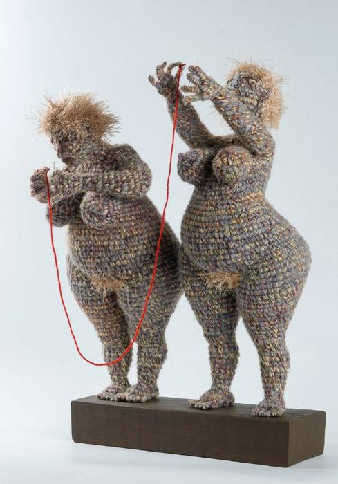 вязанные скульптуры юлии устиновой фото 1 (489x700, 296Kb)