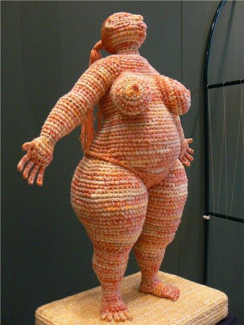 вязанные скульптуры юлии устиновой фото 6 (480x640, 244Kb)