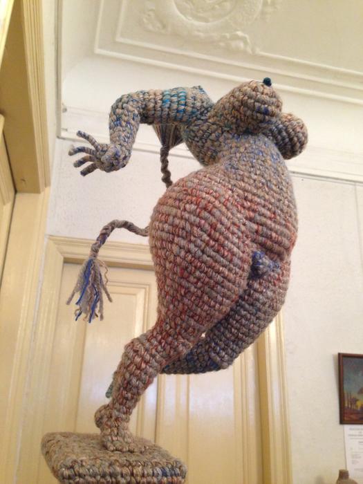 вязанные скульптуры юлии устиновой фото 8 (525x700, 384Kb)