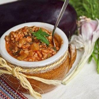Пикантный соус из баклажан и фарша (333x332, 36Kb)