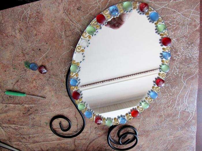 Декорируем зеркало 189