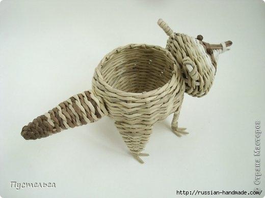 Плетение из газетных трубочек. ЕНОТ (2) (520x390, 72Kb)