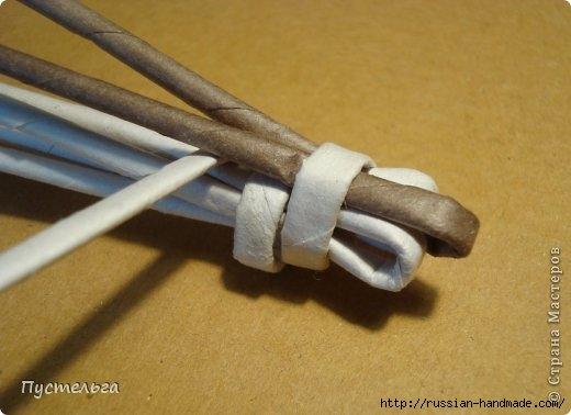 Плетение из газетных трубочек. ЕНОТ (7) (520x378, 95Kb)