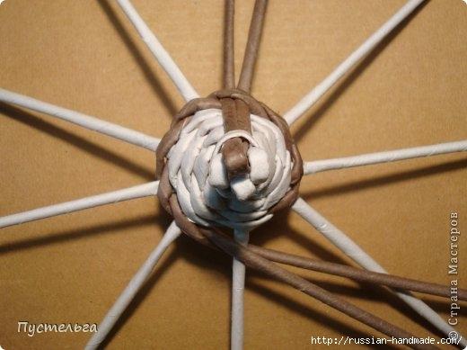 Плетение из газетных трубочек. ЕНОТ (9) (520x389, 100Kb)
