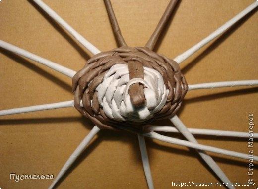 Плетение из газетных трубочек. ЕНОТ (10) (520x381, 103Kb)