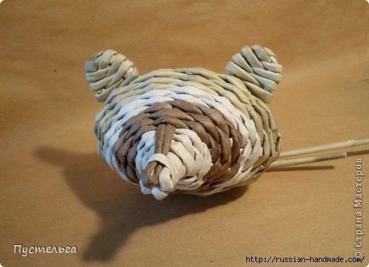Плетение из газетных трубочек. ЕНОТ (12) (520x376, 94Kb)