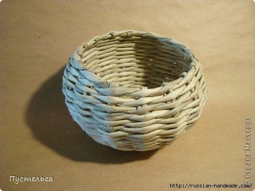 Плетение из газетных трубочек. ЕНОТ (14) (520x390, 98Kb)