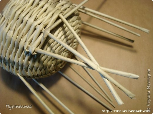 Плетение из газетных трубочек. ЕНОТ (16) (520x388, 113Kb)