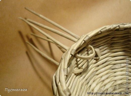 Плетение из газетных трубочек. ЕНОТ (20) (520x382, 93Kb)