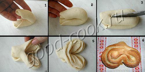 Как сделать тесто для булочек рецепт пошагово