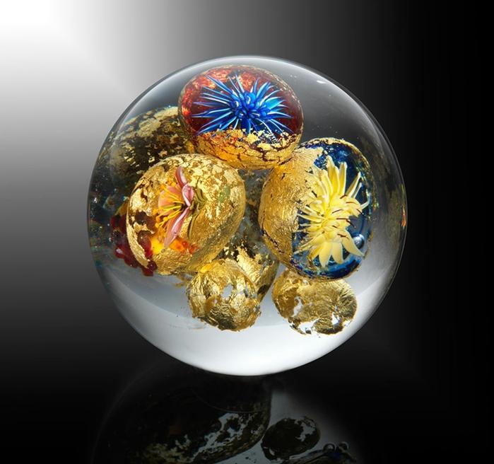 стеклянные шары Paul Stankard 4 (700x656, 215Kb)