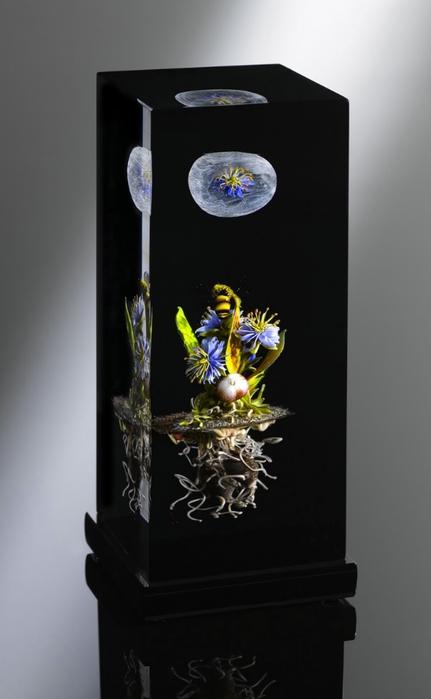 стеклянные шары Paul Stankard 8 (431x700, 109Kb)