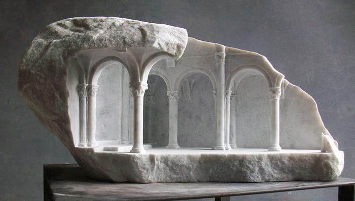скульптуры из мрамора 3 (700x398, 240Kb)