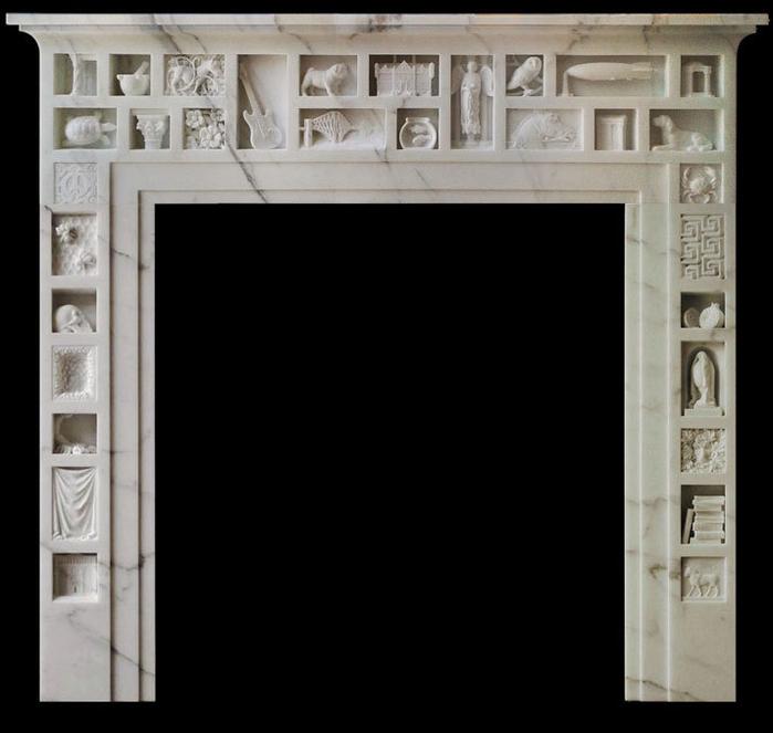 скульптуры из мрамора 11 (700x663, 218Kb)